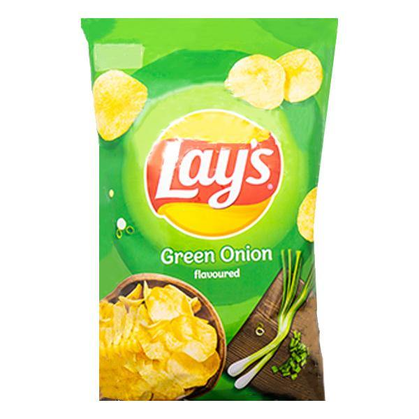 Lays Green Onion Chips 140g