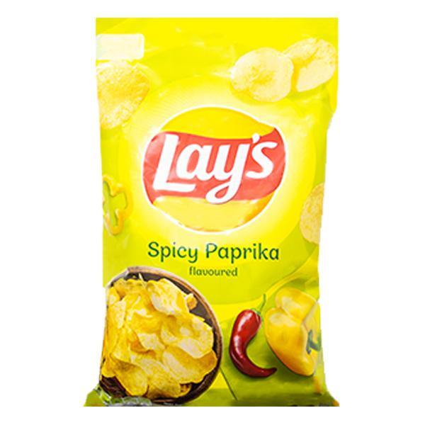 Lays Spicy Paprika Chips 140g