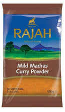 Rajah Mild Madras Curry Powder - 100g - SaveCo Cash & Carry