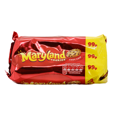 Maryland choc chip cookies - twin pack - SaveCo Cash & Carry