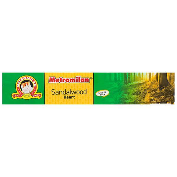 Metromilan Sandalwood Heart Incense Sticks