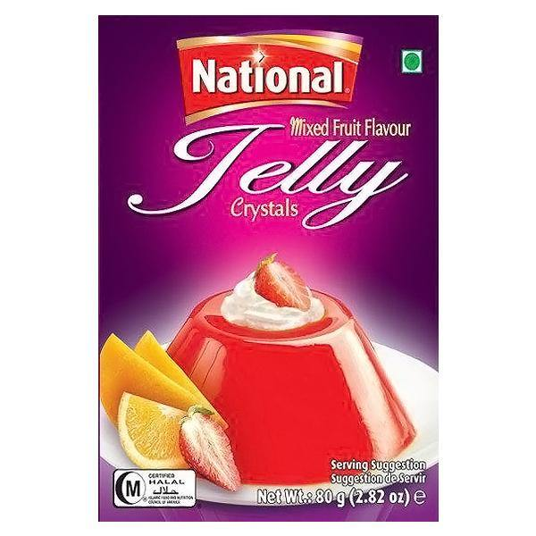 National Jelly Mixed Fruit Flavour 80g - SaveCo Online Ltd