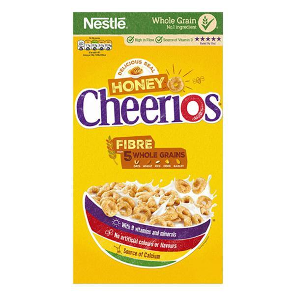 Cheerios Honey Cereal 375g SaveCo Online Ltd
