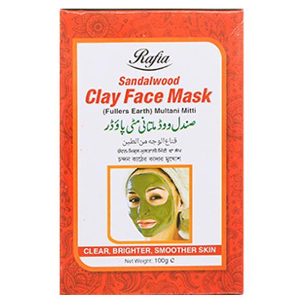 Rafia Sandalwood Clay Face Mask