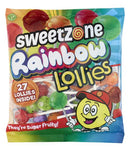 Sweetzone Rainbow Lollies SaveCo Bradford
