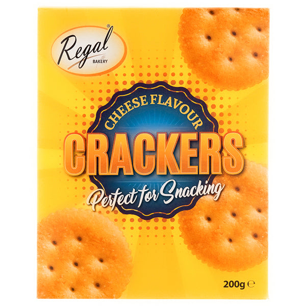 Regal cheese crackers - 200g