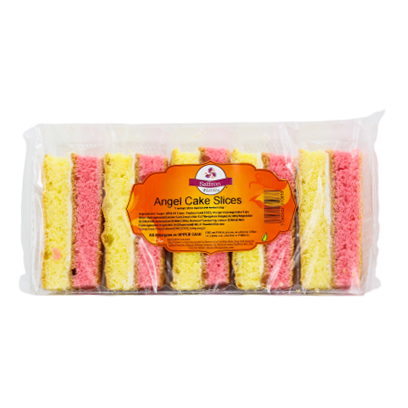 Saffron angel cake slices - SaveCo Cash & Carry