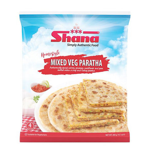 Shana Home Style mixed vegetable paratha - SaveCo Cash & Carry