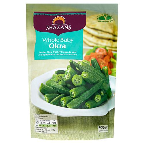 Shazan baby okra whole SaveCo Bradford