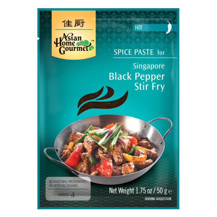 Asian Home Gourmet Singapore black pepper stir-fry SaveCo Online Ltd