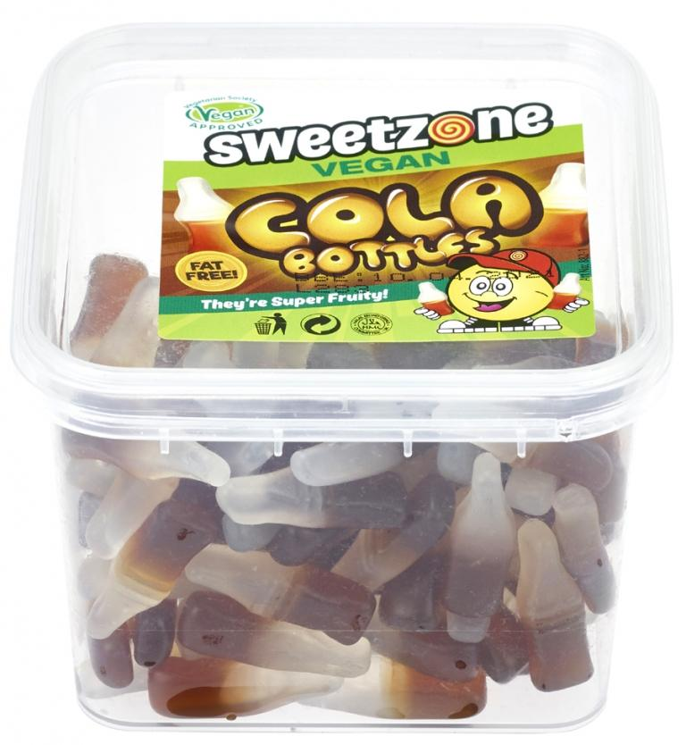 Sweetzone Vegan Cola Bottles SaveCo Bradford