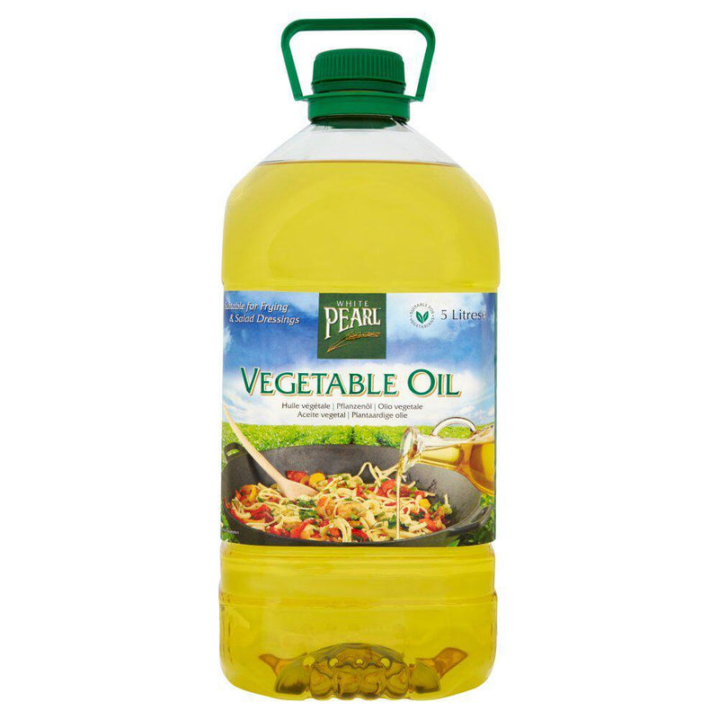 White Pearl vegetable oil - 5ltr - SaveCo Cash & Carry