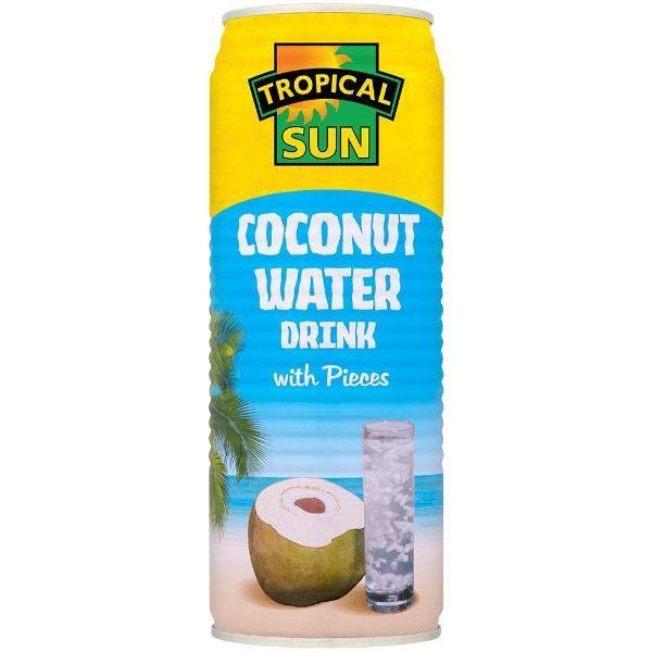 Tropical Sun coconut water with pieces SaveCo Online Ltd