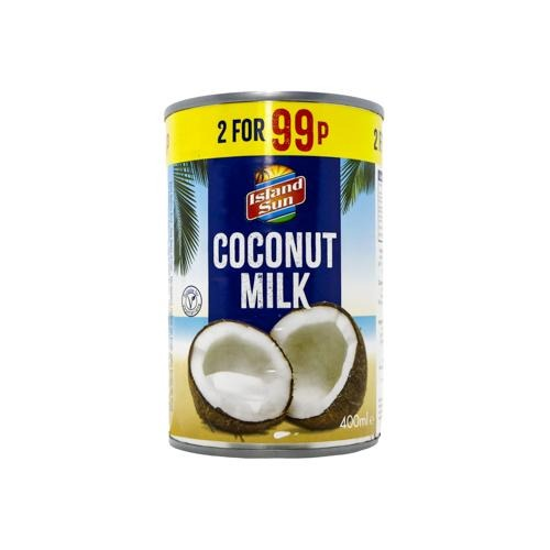 Island Sun coconut milk - 400ml SaveCo Bradford
