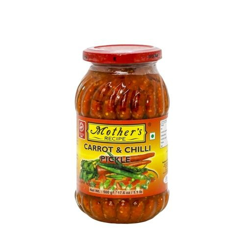 Mothers carrot & chilli pickle - 500g SaveCo Bradford