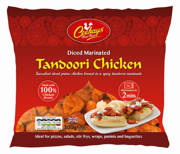 Ceekays Diced Marinated tandoori chicken - SaveCo Cash & Carry