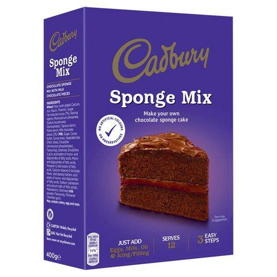 Cadbury Sponge Mix SaveCo Online Ltd