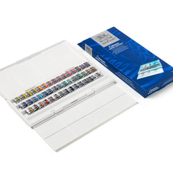 Winsor & Newton Watercolour Paint Cotman Set 45 Half Pans