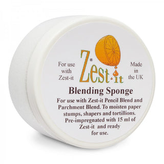 Zest-it : Blending sponge  for blending coloured and pastel pencils