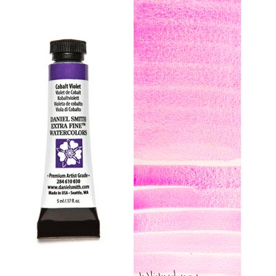 DANIEL SMITH Extra Fine Watercolour : Cobalt Violet 5ml tube