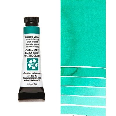 DANIEL SMITH Extra Fine Watercolour : PrimaTek : Amazonite Genuine  5ml tube