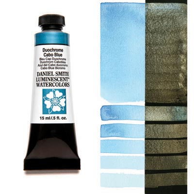 DANIEL SMITH Watercolours 15ml tube Duochrome Cabo Blue