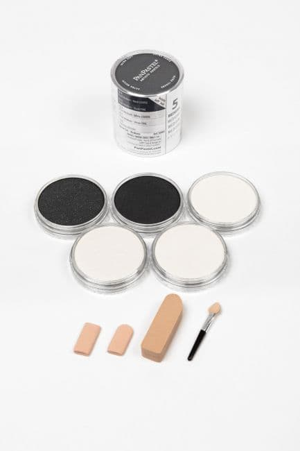 PanPastel Pearlescent special effects mediums & blender 5 Pans & Sofft tools. PanPastel Pearl Mediums are the world's first true pastel (dry colour) mediums.