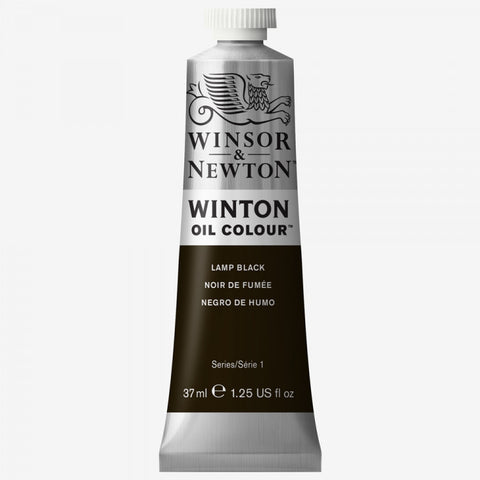 Winsor and Newton Oil Lamp Black