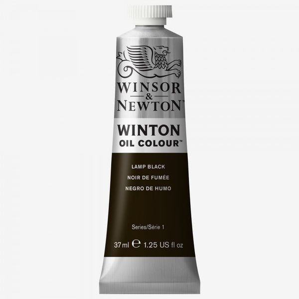 Winsor & Newton Oil Winton Oil Paint 37 ml Lamp Black
