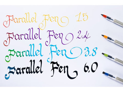 Parallel Pen - Set of 12 Cartridges - Assorted colors - Liquid Ink: Pilot