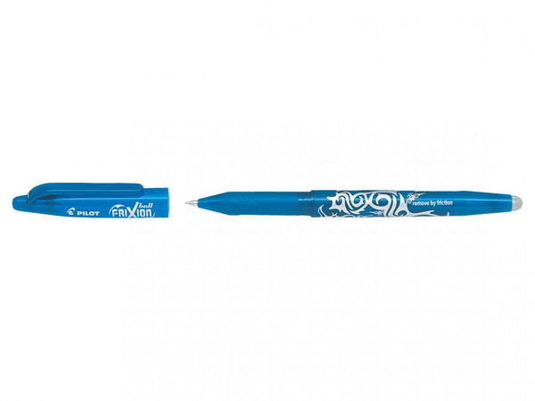 FriXion : Pilot : Gel Ink Rollerball erasable pen : Light Blue