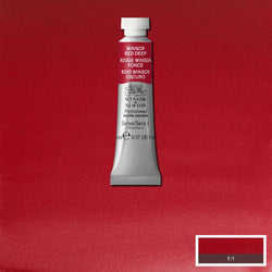 Winsor & Newton Professional Watercolour Paint 5ml : Winsor Red Deep