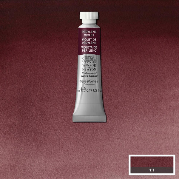Winsor & Newton Professional Watercolour Paint 5ml : Perylene Violet