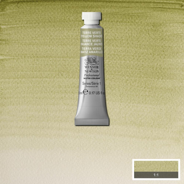 Winsor & Newton Professional Watercolour Paint 5ml : Terre Verte (Yellow Shade)