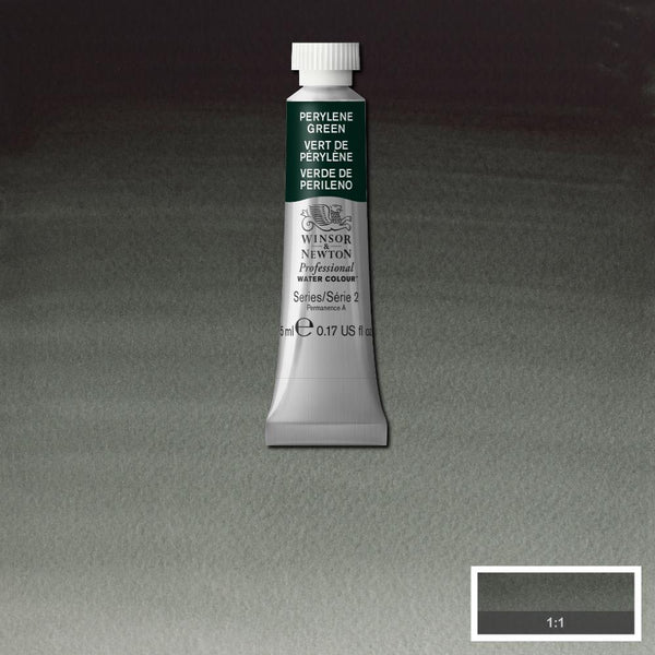 Winsor & Newton Professional Watercolour Paint 5ml : Perylene Green