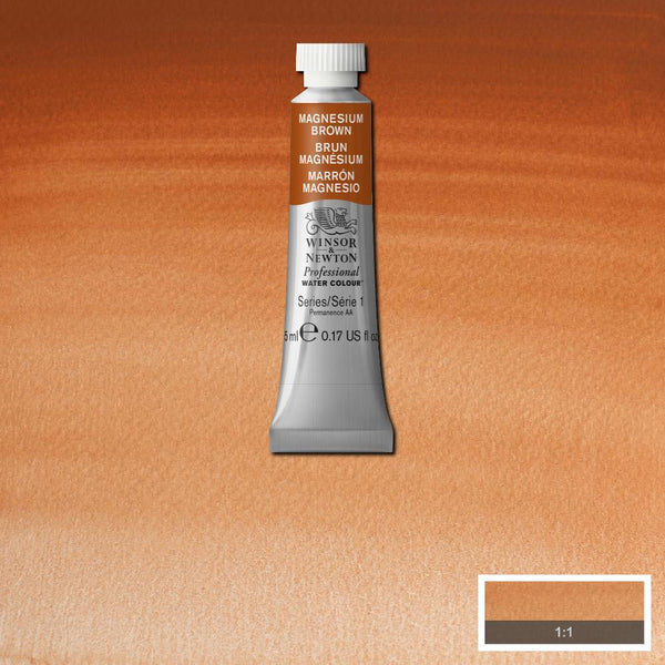 Winsor & Newton Professional Watercolour Paint 5ml : Magnesium Brown