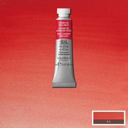 Winsor & Newton Professional Watercolour Paint 5ml : Cadmium Red Deep