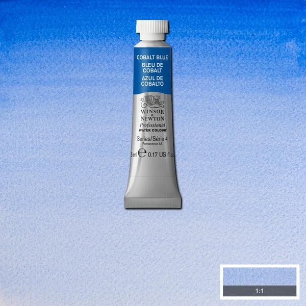 Winsor & Newton Professional Watercolour Paint 5ml : Cobalt Blue
