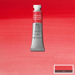 Winsor & Newton Professional Watercolour Paint 5ml : Winsor Red