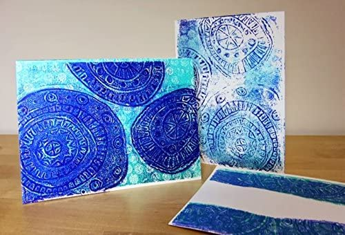 Gelli Arts Printing kit : Card Printing Gelli Plate Kit