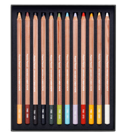 Caran d'Ache Pastel Artist Pencils set of 12