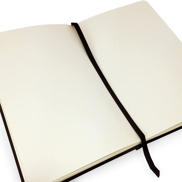 Royal Talens : Sketchbook Black Cover 9X14 cm, 140 g/m². 80 cream sheets