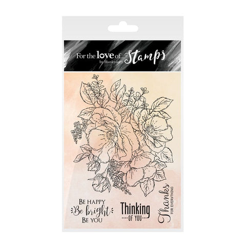 Hunkdory :  For The love of Stamps : Anemone Bouquet