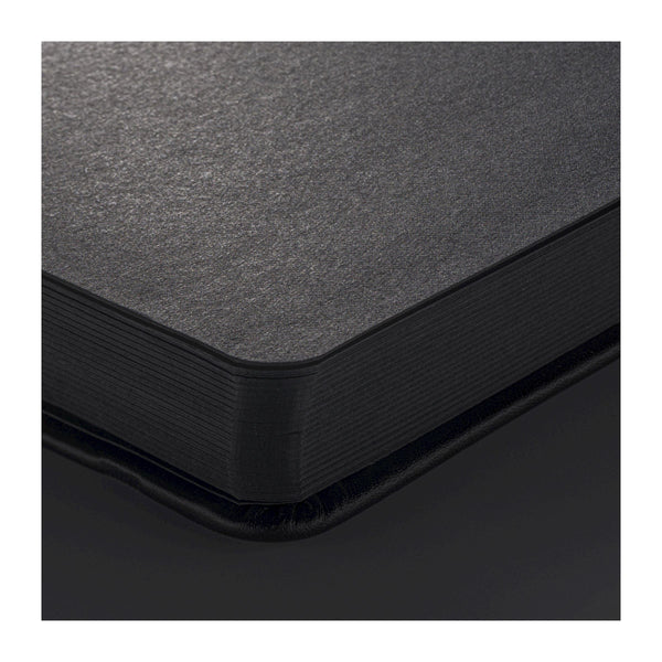 NEW Sakura : Sketchbook Black Cover 9X14 cm, 140g . 80 sheets Black sheets