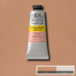 Winsor and Newton Galeria Acrylic are wonderfully affordable and yet impressive in their vibrancy and quality. Made  with a high level of pigment and created opaque versions of some naturally transparent colours. replaces flesh tint