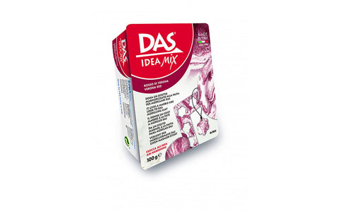 Das Ideas Mix Modelling clay : 100 g ; Mineral based clay : Red