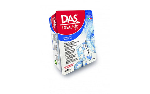 Das Ideas Mix Modelling clay : 100 g ; Mineral based clay : Blue