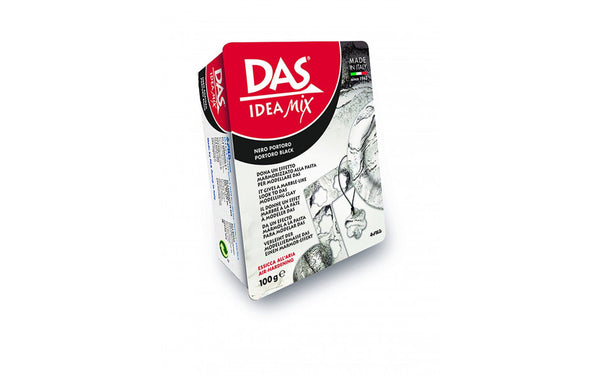 Das Ideas Mix Modelling clay : 100 g ; Mineral based clay : Black