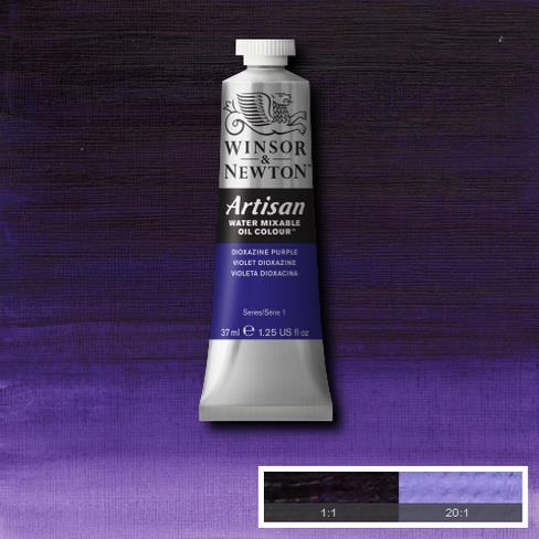 Winsor & Newton Artisan Oil : Water Mixable Oil paint 37 ml : Dioxide purple