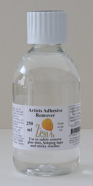 Zest-it : 250ml bottle Artist Adhesive Remover